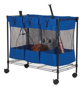Triple Storage Rolling Bin Sort Sporting Goods Hatens Or Laundry With The Convenient This Is Ideal For Busy