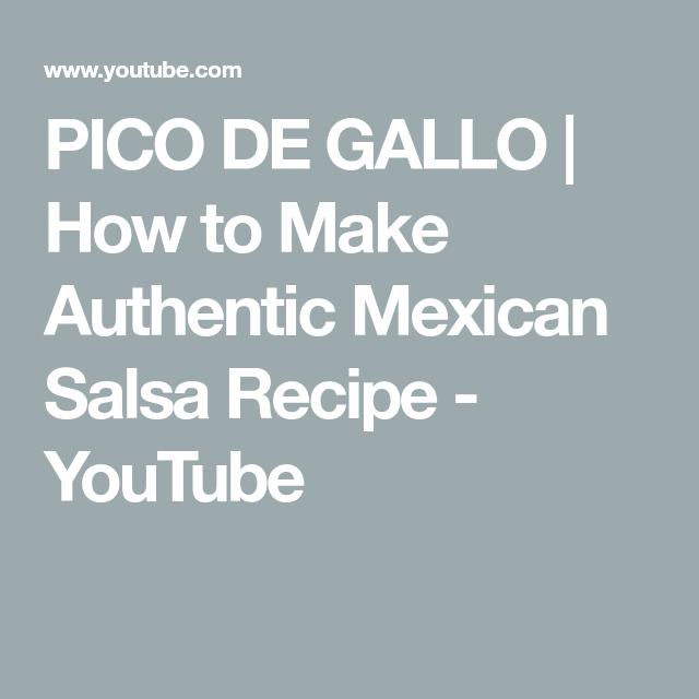 PICO DE GALLO | How to Make Authentic Mexican Salsa Recipe - YouTube #authenticmexicansalsa PICO DE GALLO | How to Make Authentic Mexican Salsa Recipe - YouTube #authenticmexicansalsa PICO DE GALLO | How to Make Authentic Mexican Salsa Recipe - YouTube #authenticmexicansalsa PICO DE GALLO | How to Make Authentic Mexican Salsa Recipe - YouTube #authenticmexicansalsa