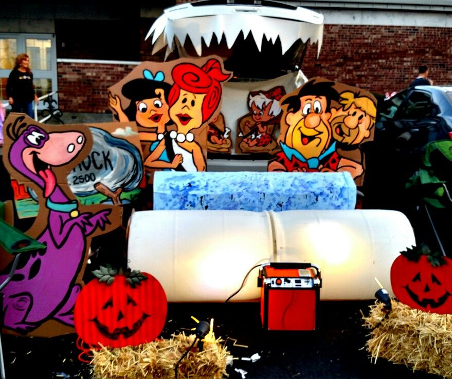 Flintstones Halloween in 2019 Trunk or treat, Holiday