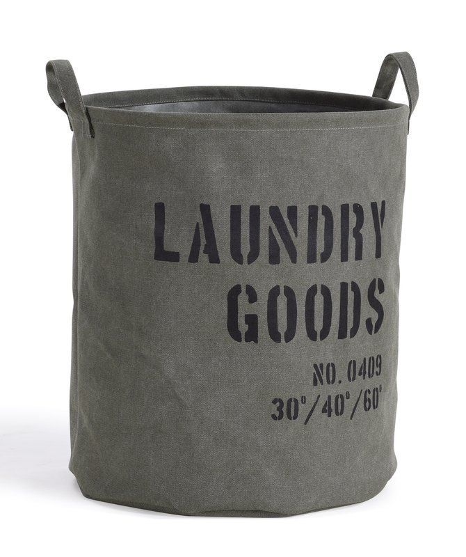 Kordell Army Laundry Hamper With Images Canvas Laundry Hamper