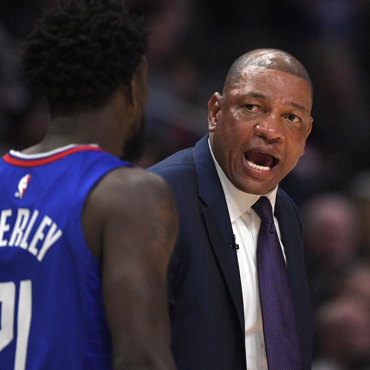 Doc Rivers Reportedly Agrees With 76ers On Contract As Team S Next Head Coach In 2020 Doc Rivers Coach Of The Year 76ers