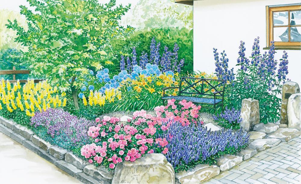 Vom vorgarten zum vorzeigegarten vorher nachher inspirationen f r den garten - Kleinen vorgarten gestalten ...