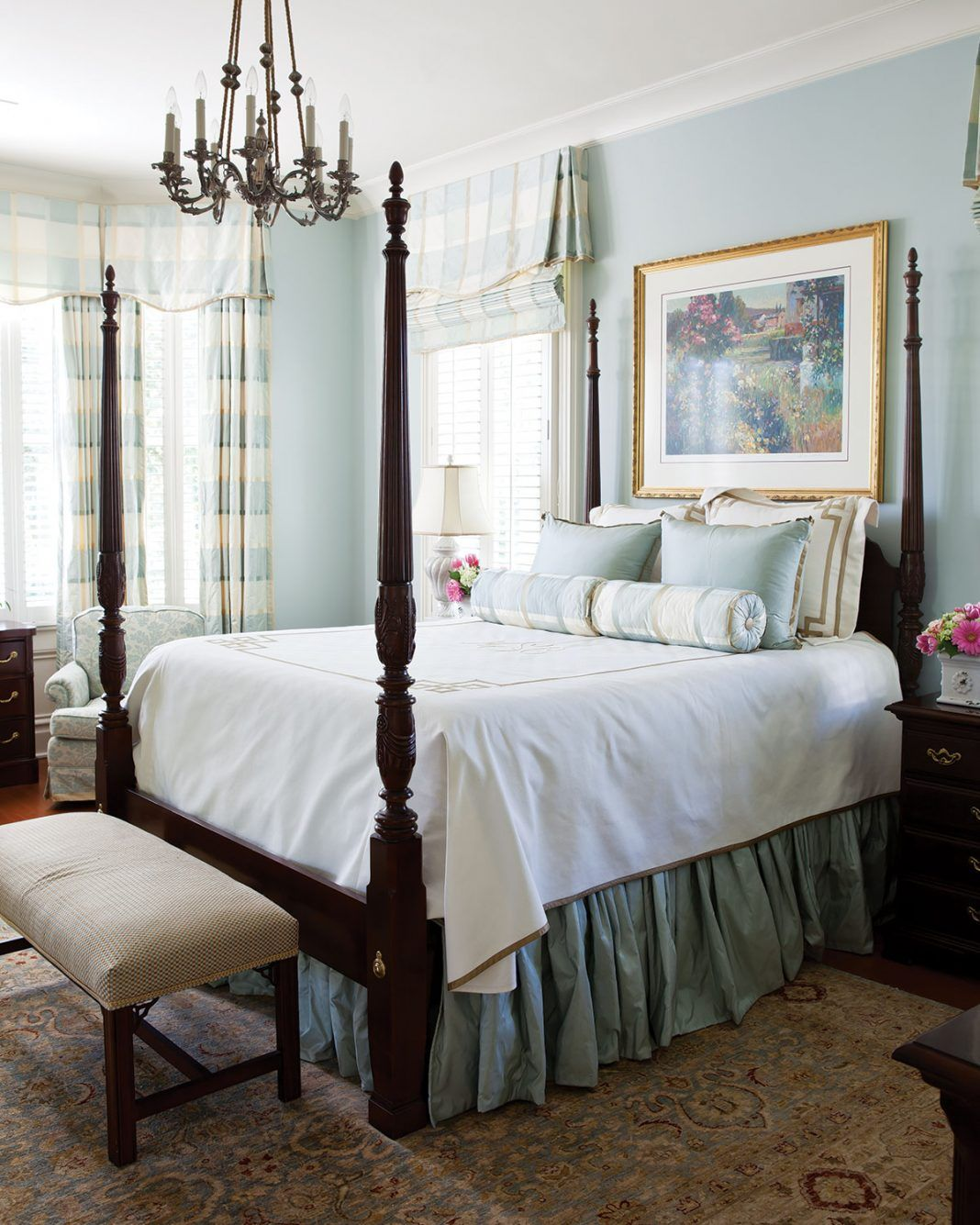 Southern Style Decorating Ideas From Southern Living: Dreamy-southern-bedrooms