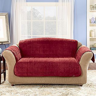 Sure Fit Inc Deluxe Pet Sofa Cover Furniture Loveseat Slipcovers For Chairs Love Seat