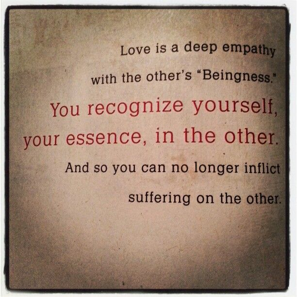 Eckhart Tolle always gets it right!