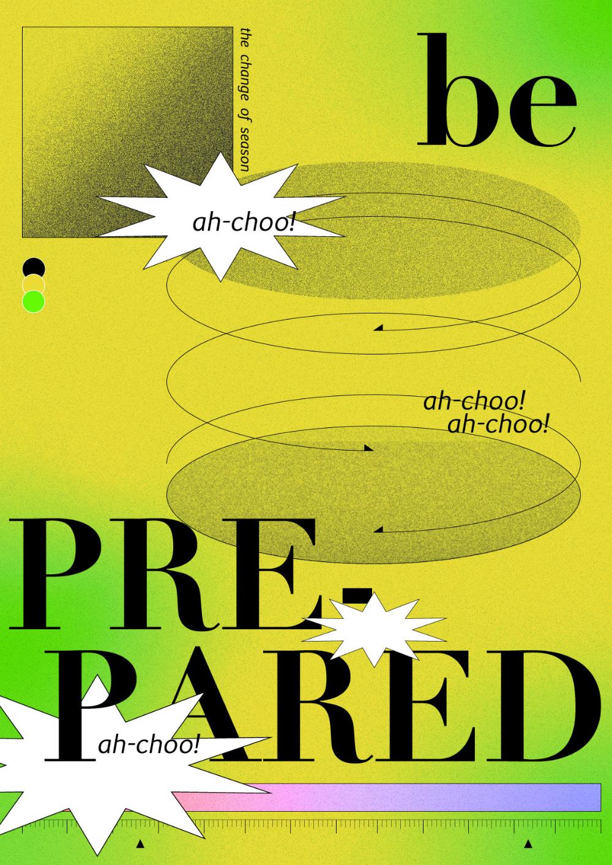 비염인의 환절기 graphic poster - 그래픽 디자인, 디지털 아트 in 2020