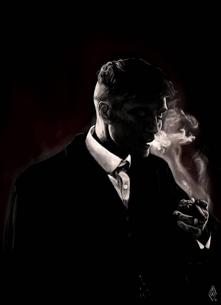thomas shelby from peaky blinders by