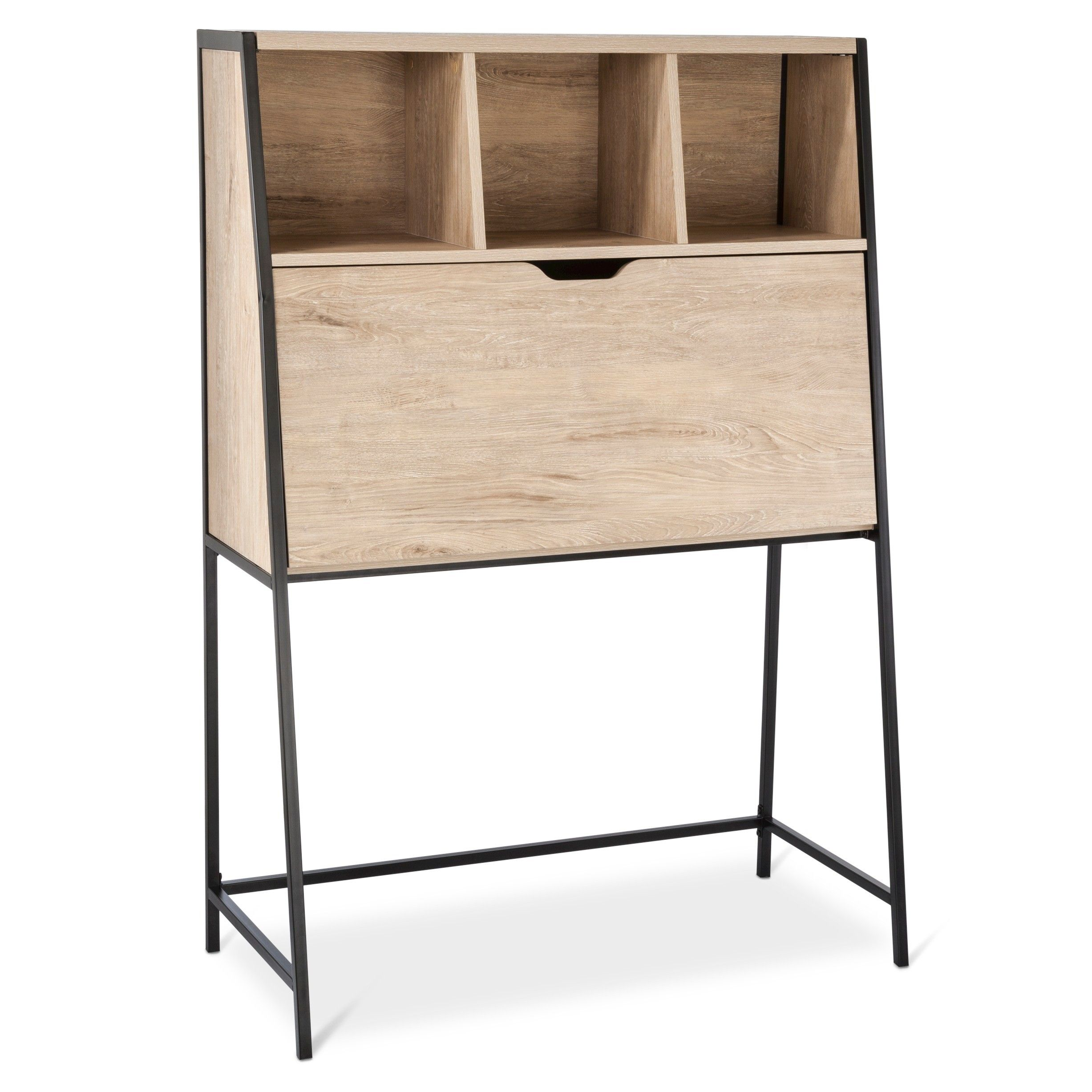 The Threshold™ Darley Drop-Down Desk combines tradition and ...