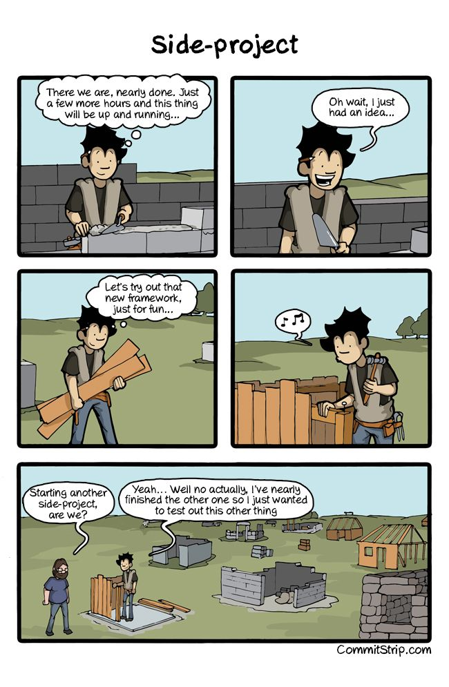 West Side-project story | CommitStrip - Blog relating the daily life of web agencies developers