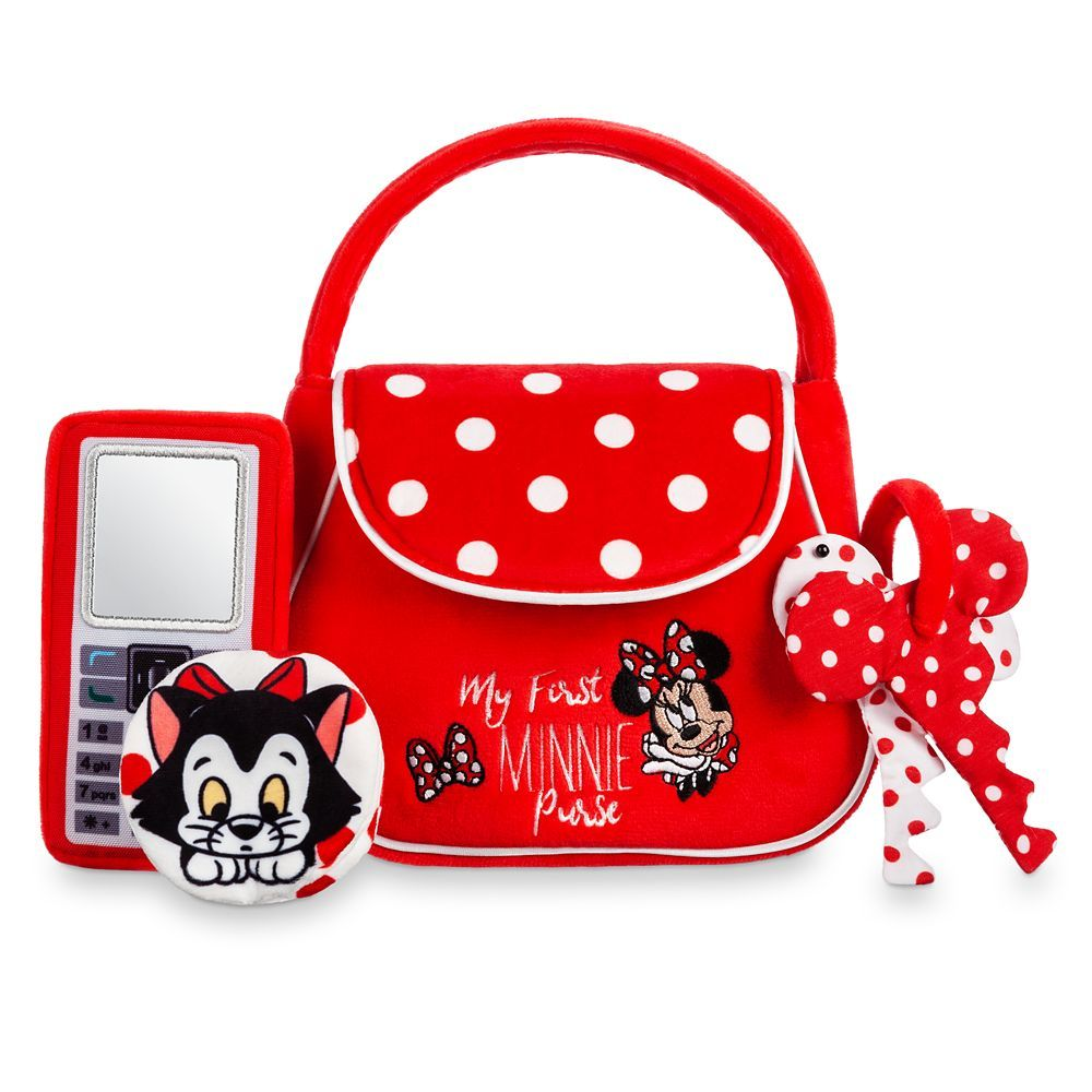 Minnie Mouse Plush Purse For Kids Little Girl Toys Purses New