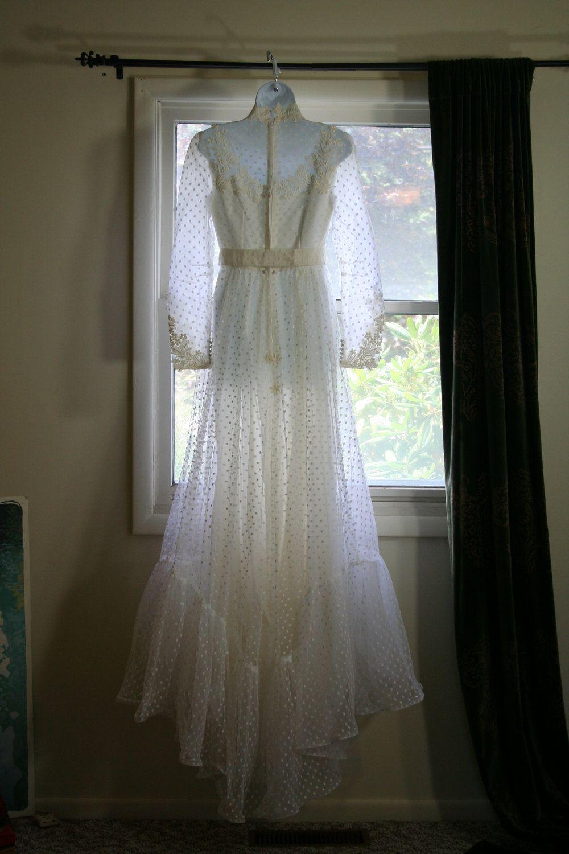 Vintage wedding dress vintage wedding gown white dress swiss