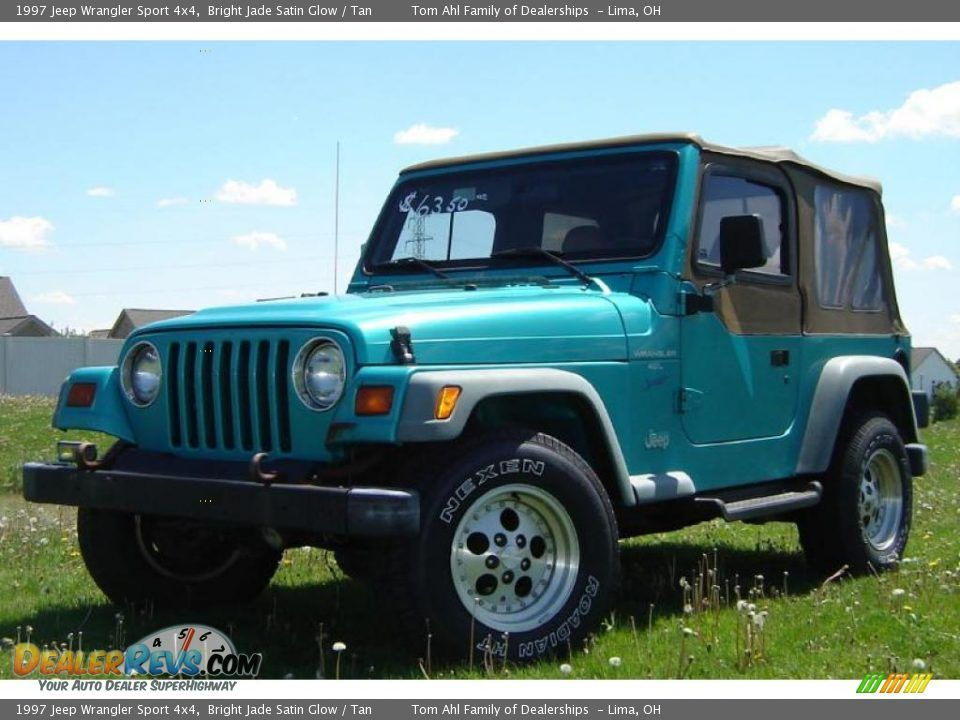 images of bright aqua jeep wranglers 1997 Jeep Wrangler