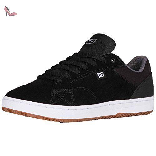 DC - Se Pures Lowtop Chaussures, EUR: 39, Black Destroy Wash