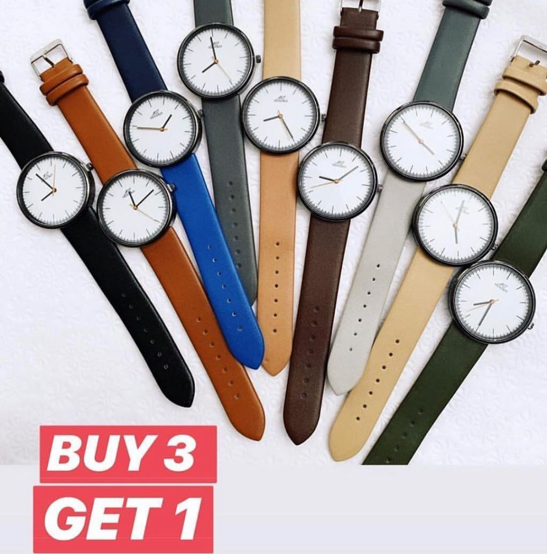 Your Online Store On Instagram This Offer Is Still Valid اشتري اي ٣ تخدي ١ مجانا او تشتري ٢ بسعر ١٧٠ حنيه Original Miyok Leather Leather Watch Accessories