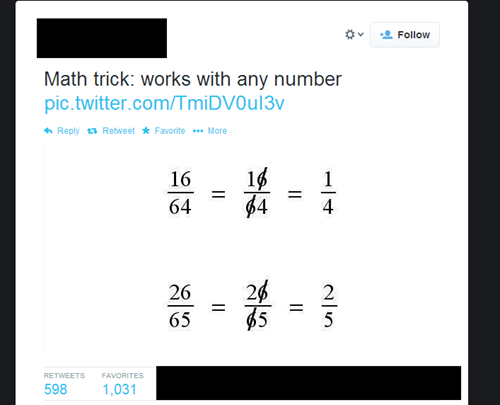 Life Hack: How to Fail Basic Math