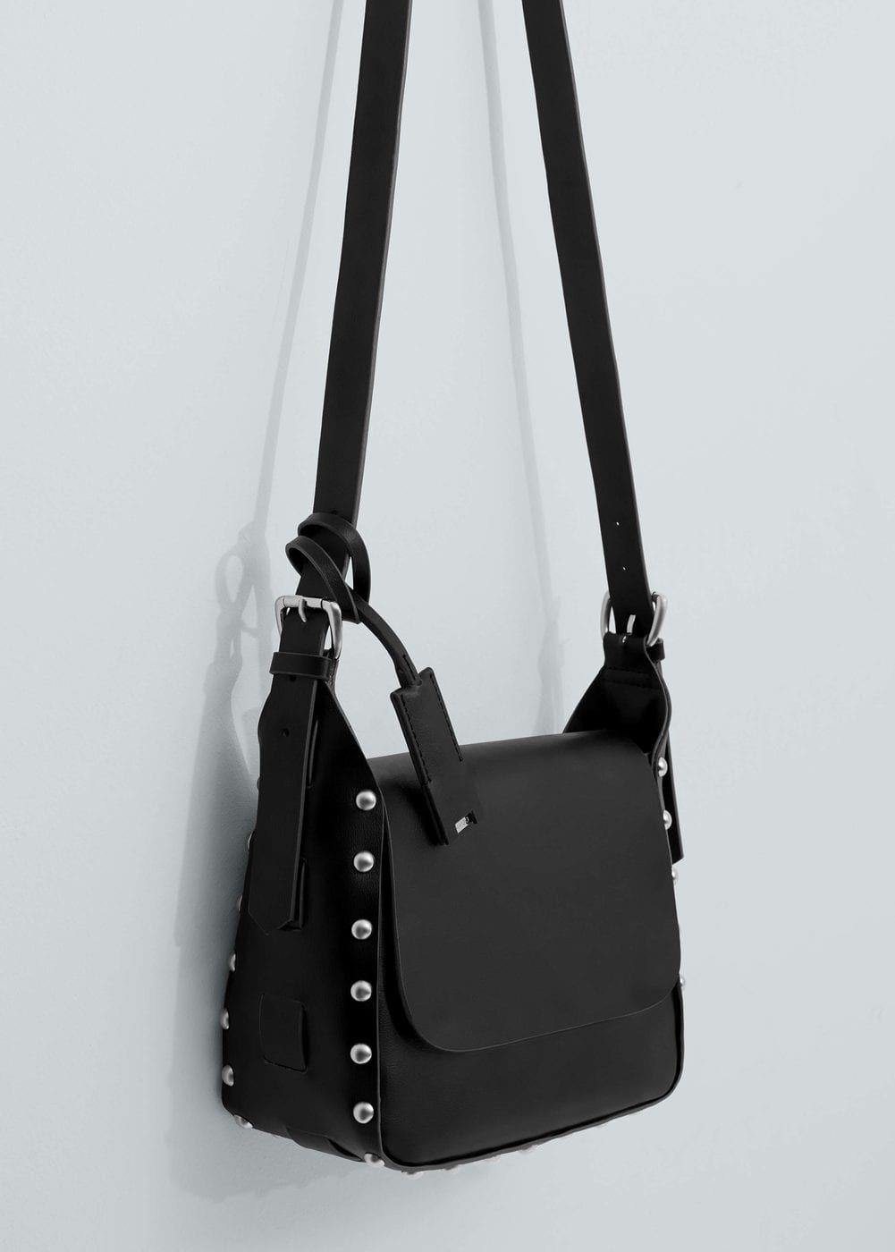Przewieszana torebka z ćwiekami - Torebki dla Kobieta | OUTLET Polska