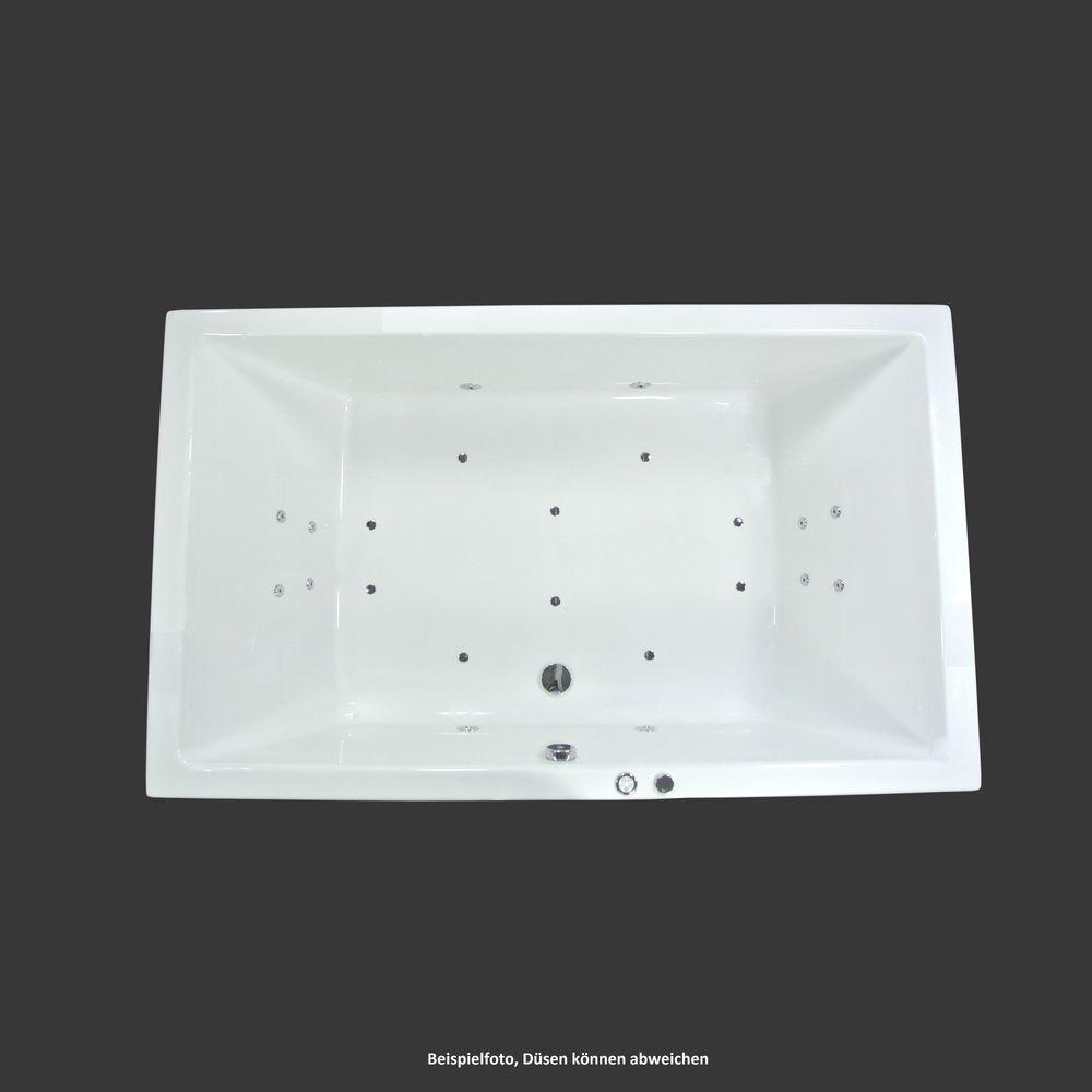 Whirlpool Exklusiv 200 X 120 X 50 Cm Badewanne 2 Personen Mona Mit Bildern Badewanne Whirlpool Wanne