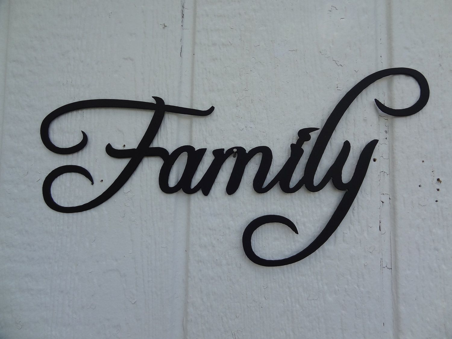 Family word decorative metal wall art home decor 1599 via etsy family word decorative metal wall art home decor 1599 via etsy amipublicfo Gallery