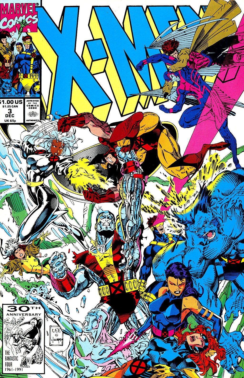 X Men Vol 2 3 With Images Jim Lee Art X Men Marvel Comics Covers