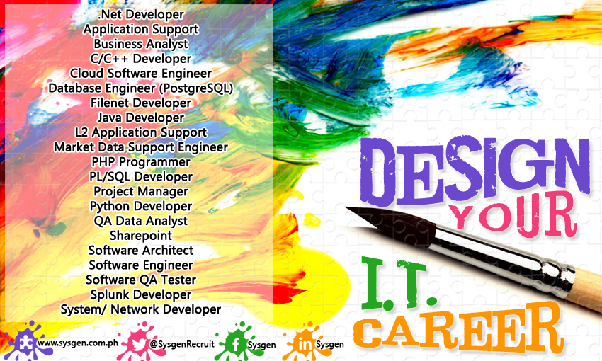 Visit Sysgen It Job Openings For Job Descriptions And More Job