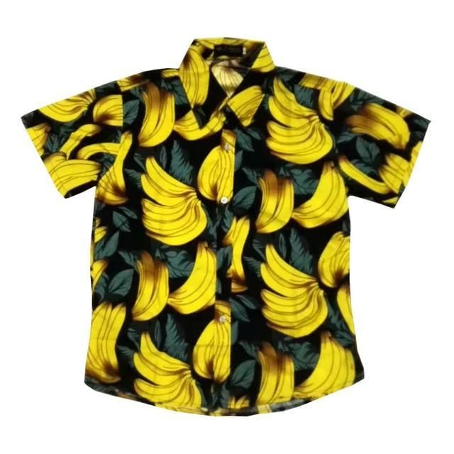 c36aa45d516 Men Hawaii Shirt Summer Beach Leisure Floral Tropical Seaside Hawaiian  Shirtsliligla