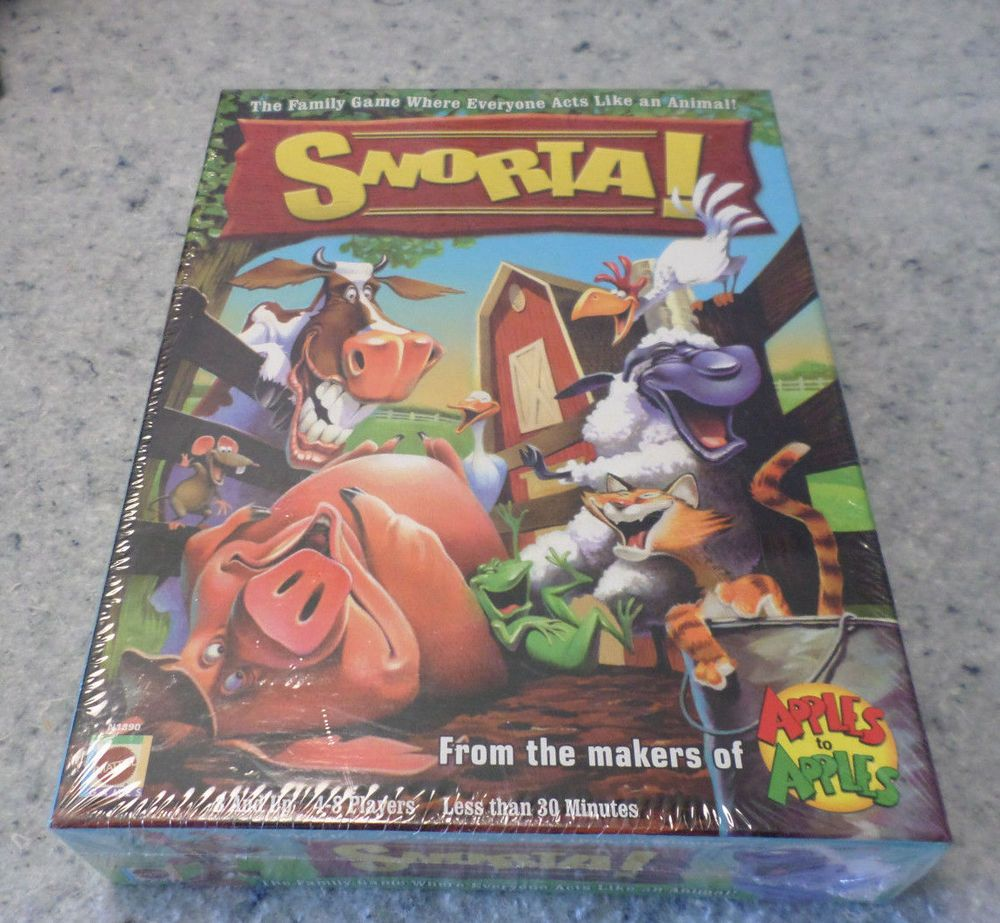 Snorta Game 1st Edition New Sealed In Factory Plastic Wrap Game Shelf Mattel Family Games Board Games Game 1