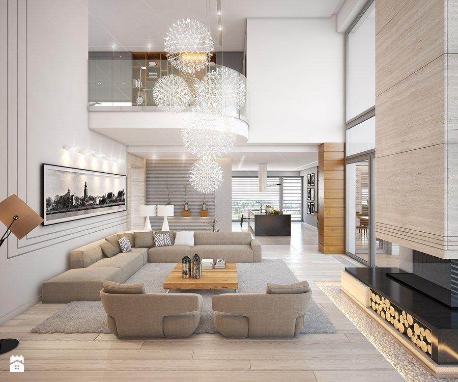 LK&1230 - wizualizacja salonu - zdjęcie od LK&Projekt | home ...