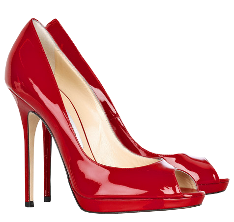 Red Female Heels Png Clipart Best Web Clipart Red Patent Leather Pumps Red Shoes Jimmy Choo Shoes
