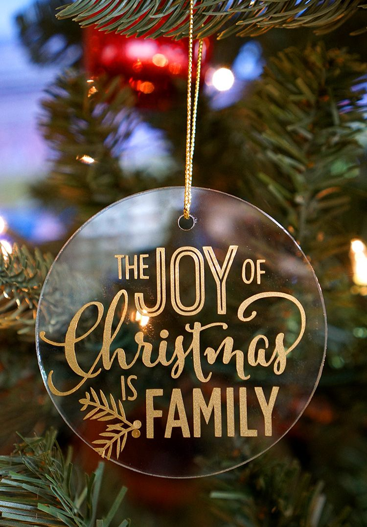 Easy Glass Vinyl Christmas Ornaments Vinyl Christmas Ornaments Christmas Ornaments Family Christmas Ornaments