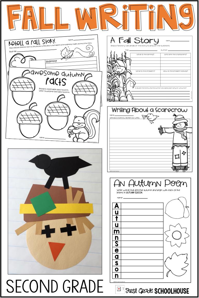 Fall Writing for Second Grade   Grades 1-2: Ideas & Resources ...