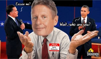 Gary Johnson Takes Lead in WVa Presidential Polls