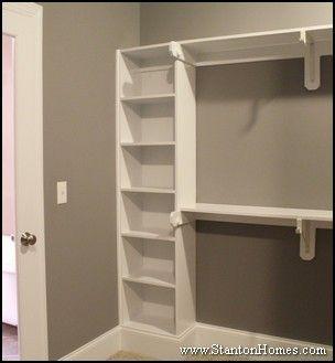 New Home Master Bedroom Closet Storage And Builtin Shelving Ideas Closet Bedroom Simple Closet Closet Designs