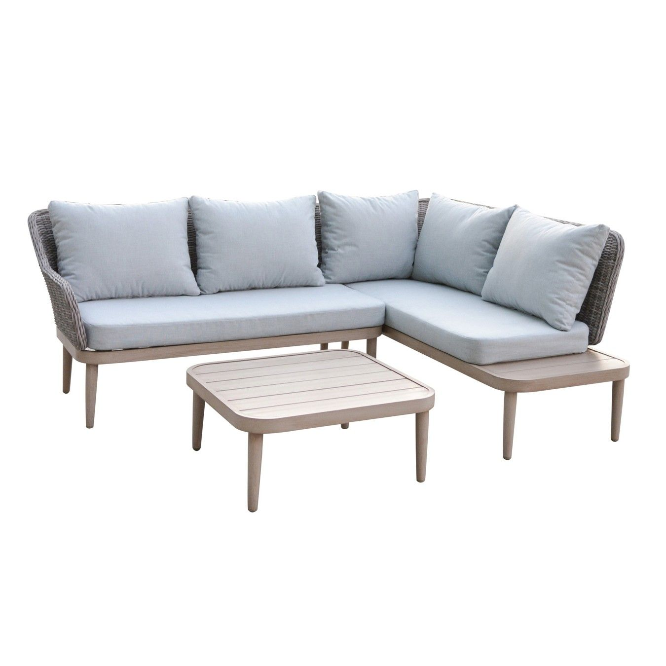 Palmira Corner Sofa With Side Table Outdoor Sectional Sofa