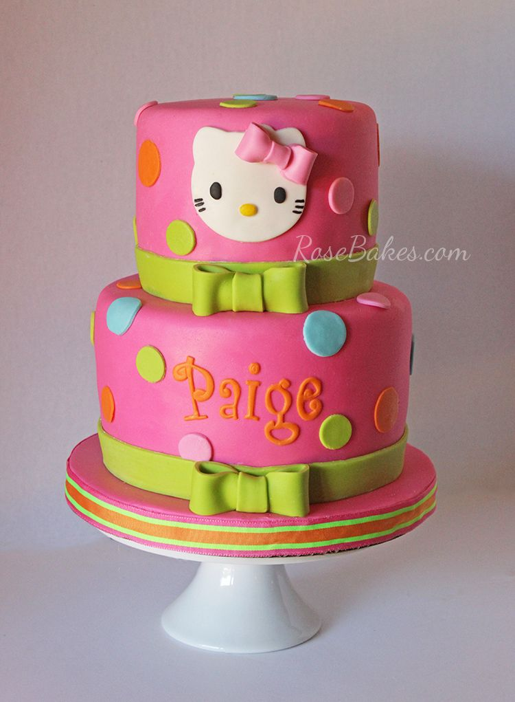 A Hot Pink Hello Kitty Cake. Ya'll. I'm still sharing cakes from 2014. HOW?? How in the world did I ever get so far behind on sharing cakes? I have no explanation other than I'm just plain busy. 6 kids. Homeschooling. Laundry & dishes. Real-life cake bsuiness. Blogging… I just got behind and have accepted…Continue Reading ▶