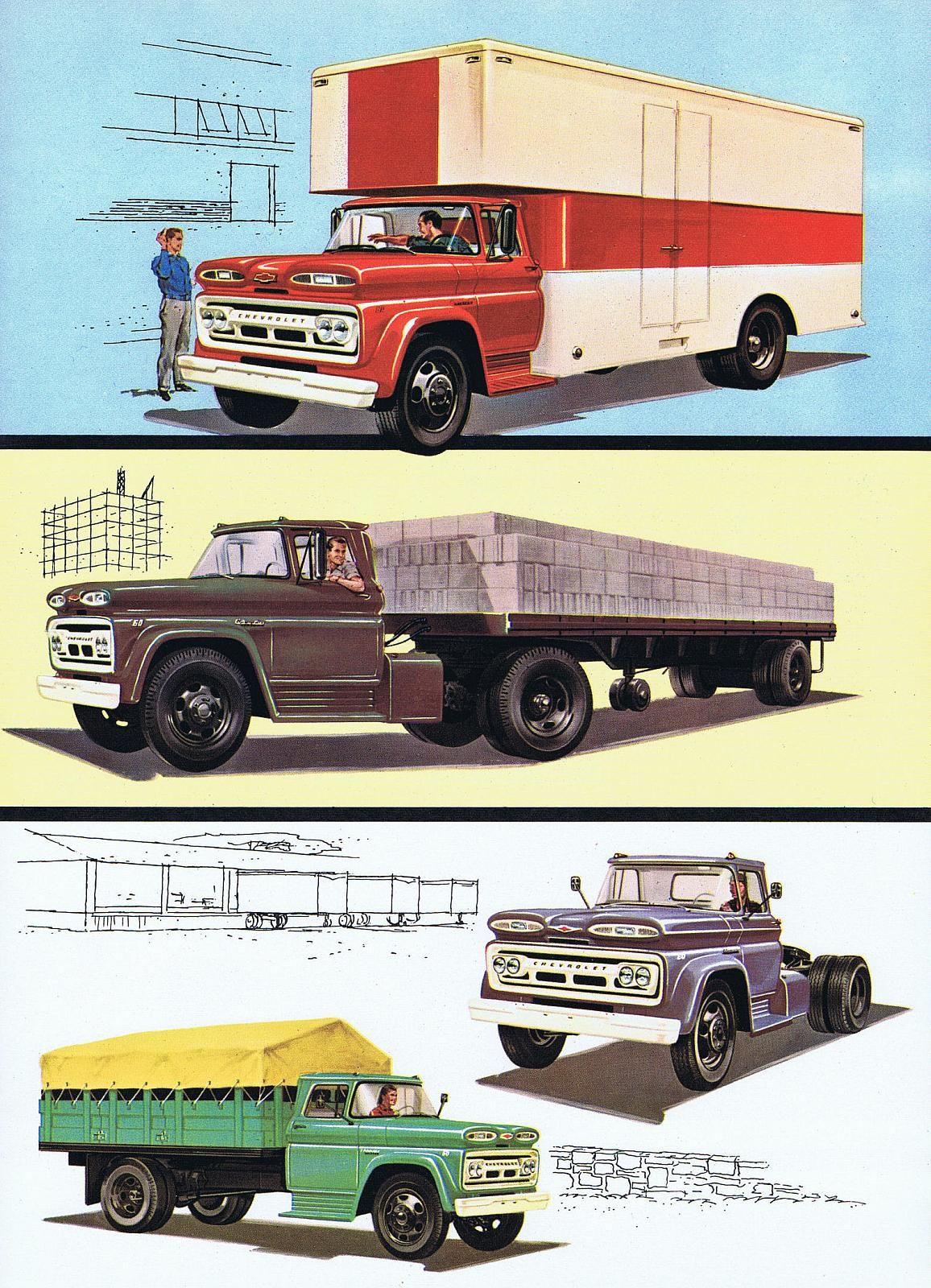 1960 advertisements chevrolet 1960 chevrolet c60 series 02 chevrolet full size cars trucks. Black Bedroom Furniture Sets. Home Design Ideas