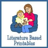 Lots of great free printables based off of children's books