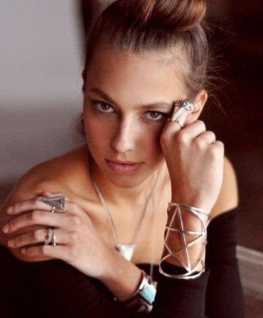 Pentagram cuff, Pamela Love