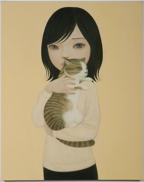 Cat-Hideaki-Kawashima via dailyartfixx