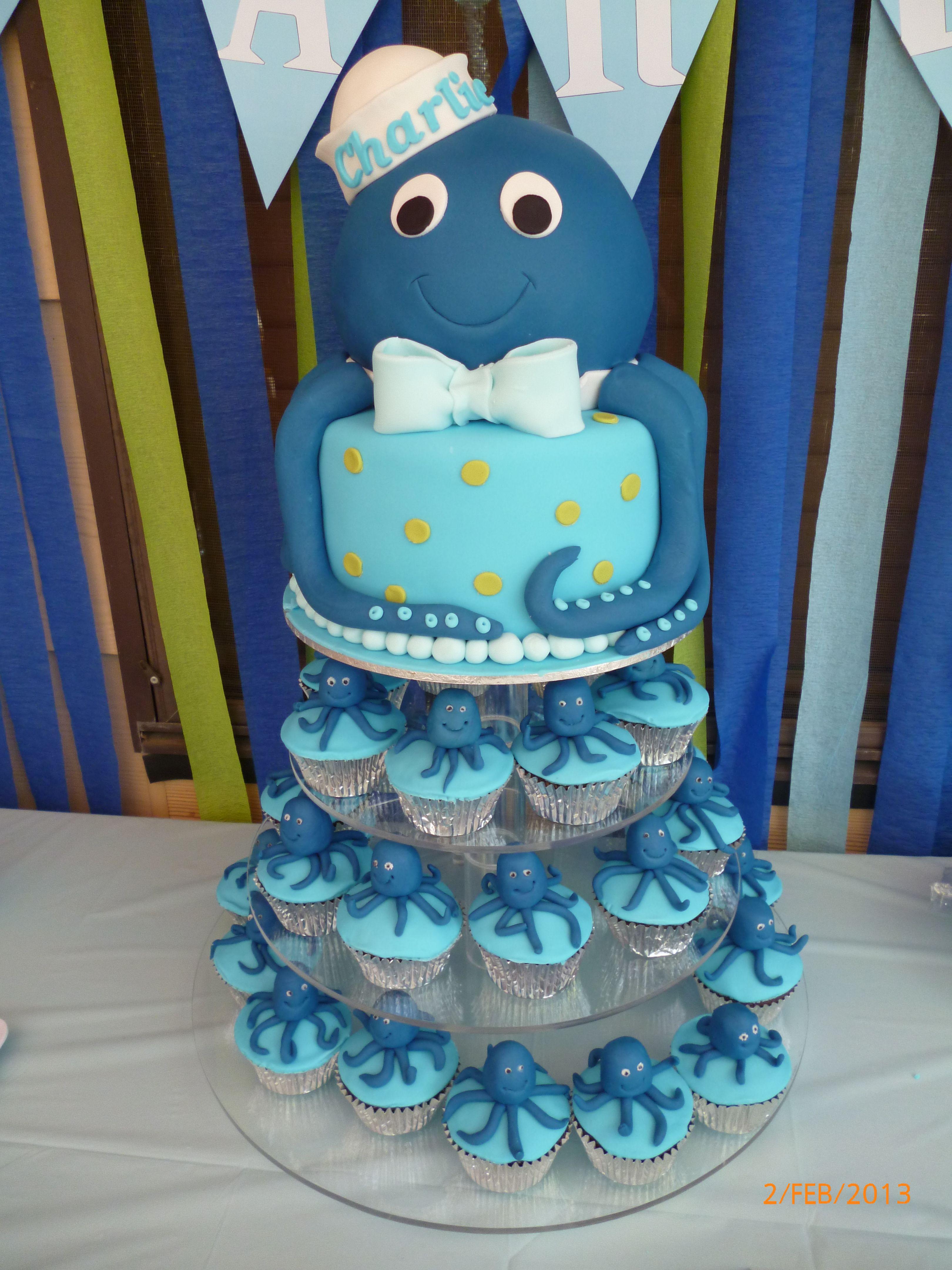 Under the sea Octopus cake animal octopus Pinterest Octopus