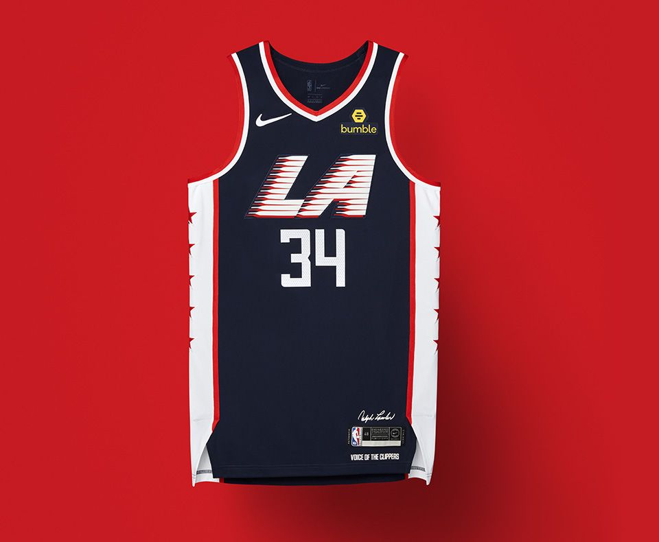 2019 20 Clippers City Edition Jersey Los Angeles Clippers Jersey Usa Basketball