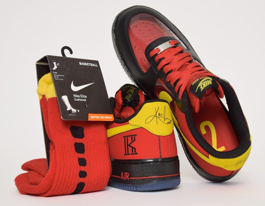 on sale e5c7d b8c89 Nike Air Force 1 CMFT Kyrie Irving QS Cavs #sneakers | My ...