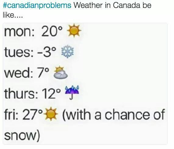 It Snowed In Summer Once It Was Aaaaaabsolutely Wonderful Canada Jokes Canada Funny Canadian Humor