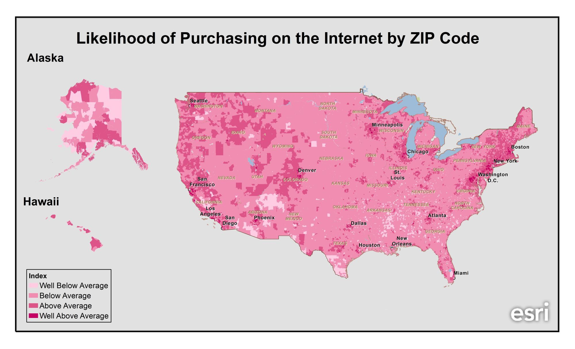 Where Do The Most Charitable Americans Live GIS Maps Remote - Internet map for us