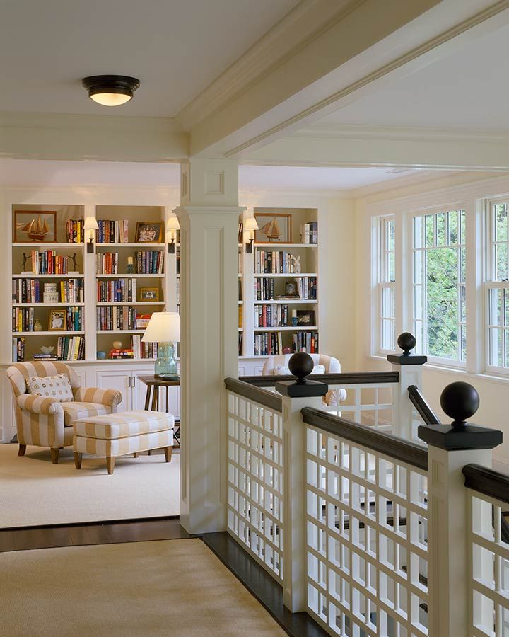 Home Library Loft: Small Home Libraries, Beautiful