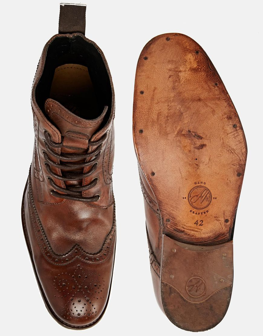 246af85f Botas Oxford Angus de H By Hudson | Formal and Casual shoes | Botas ...
