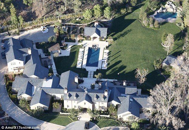 Kim Kardashian And Kanye West Move In To 20million Mansion