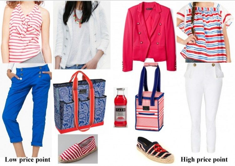 a coral & navy story for #glamping