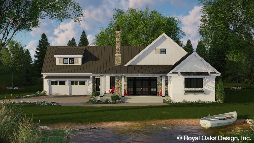 Acorn Farm House Plan 5 Bond Sets