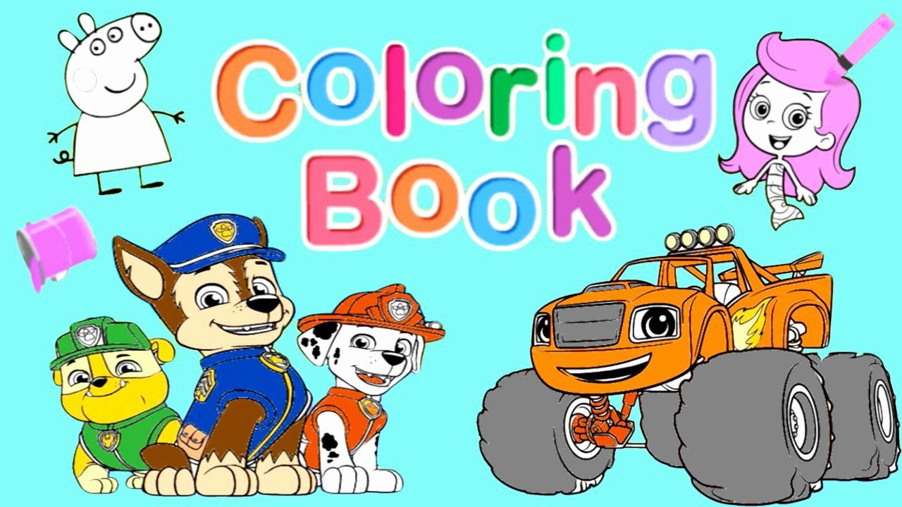 Nick Jr Coloring Book Best Of Nick Jr Coloring Book Pt 1 Blaze Paw Patrol Dora And Coloring Books Nick Jr Coloring Pages Cat Coloring Book
