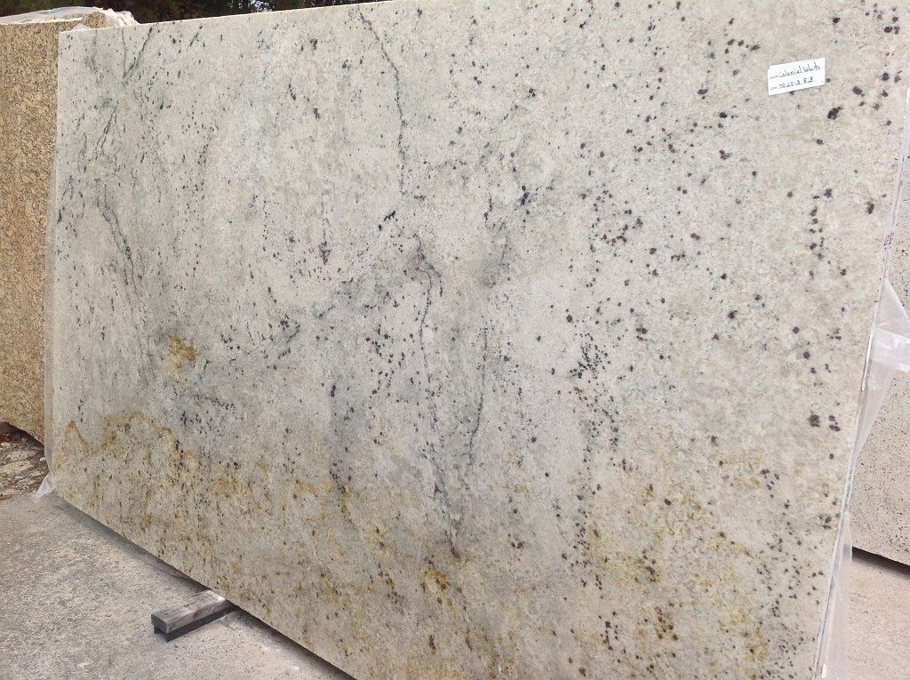Light Granite Slabs Colonial White Google Search
